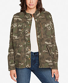 WILLIAM RAST Embellished Camo-Print Jacket