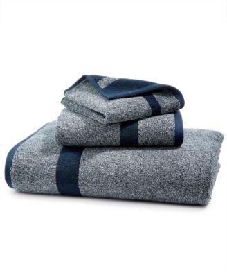 LAST ACT! Mingle Cotton Reversible Yarn-Dyed Fashion Hand Towel
