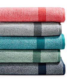 LAST ACT! Juliette LaBlanc Mingle Cotton Reversible Yarn-Dyed Fashion Towel Collection