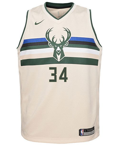 new arrivals 622b0 1107d Nike Giannis Antetokounmpo Milwaukee Bucks City Edition ...