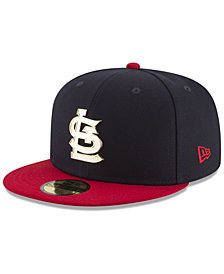 New Era St. Louis Cardinals Golden Finish 59FIFTY Cap