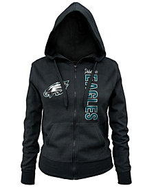 5th & Ocean Women's Philadelphia Eagles Full-Zip Hoodie