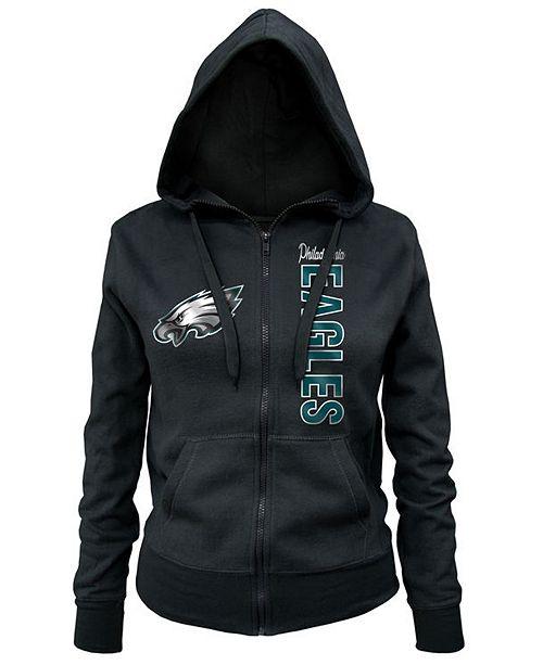 5th   Ocean Women s Philadelphia Eagles Full-Zip Hoodie - Sports Fan ... 39335be730
