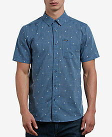 Volcom Men's Gladstone Jacquard Button-Down Shirt
