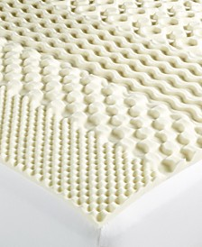 7-Zone Memory Foam Mattress Toppers, Created for Macy's
