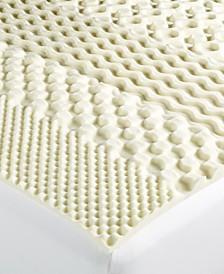 7-Zone Twin Memory Foam Mattress Topper, Created for Macy's