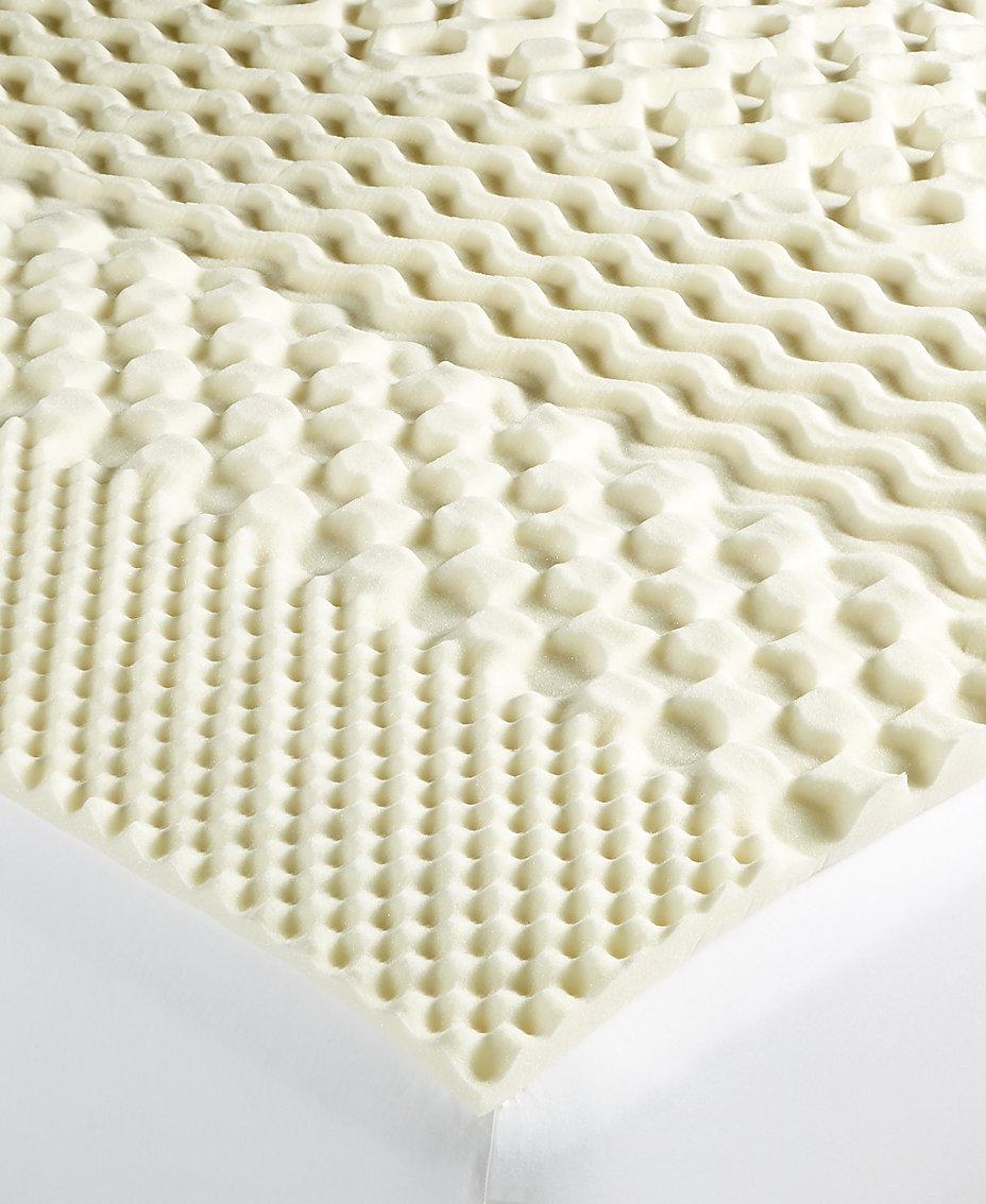 Martha Stewart Collection 7-Zone Memory Foam Mattress Toppers ...