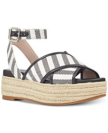 Nine West Showrunner Wedge Sandals