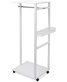 Joy Mangano Ultimate Closet Rack & Basket