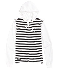 LRG Men's Striped Hoodie