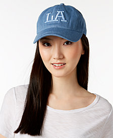 August Hats LA Denim Baseball Cap