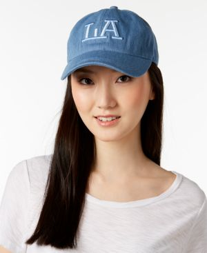 August Hats La Denim Baseball Cap 5712736