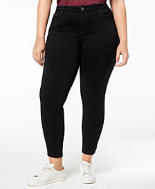 Style & Co Plus Size Ultra-Skinny Ankle Jeans, Created for Macy's