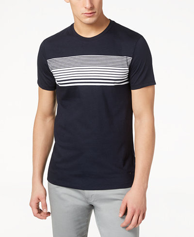 Calvin Klein Men's Striped T-Shirt