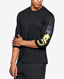 Under Armour Men's Podium 3/4-Sleeve T-Shirt, Created for Macy's
