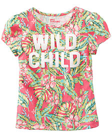 Epic Threads Wild Child Graphic-Print T-Shirt, Little Girls, Created for Macy's