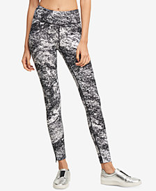 DKNY Sport Printed High-Waist Leggings