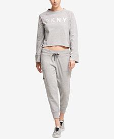 DKNY Sport Flatback Jersey Sweatshirt