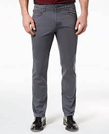 I.N.C. Men's Stretch Twill Pants, Created for Macy's