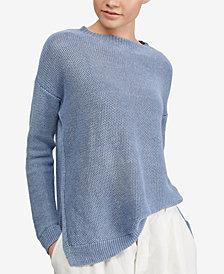 Polo Ralph Lauren Rib-Knit Linen Sweater