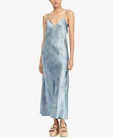 Polo Ralph Lauren Tie-Dye Silk Maxidress