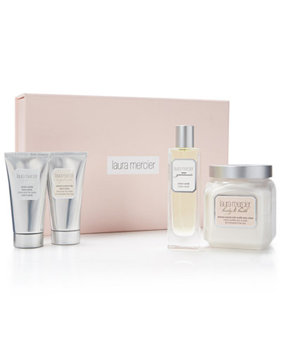 Complimentary Luxury 3-Pc Gift Set with the purchase of any 2 Laura Mercier Bath & Body products, Created for Macy's