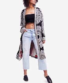 Free People Lisbon Embellished Duster Cardigan