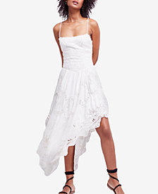 Free People Love To Love You Asymmetrical Crochet Dress