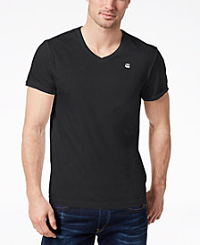 G-Star Men's V-Neck T Shirt, Created for Macy's