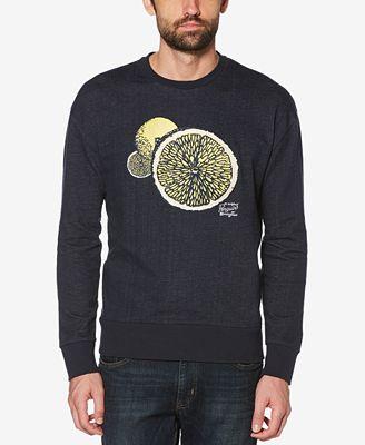 Mens Drop Houlder Sweatshirt Original Penguin