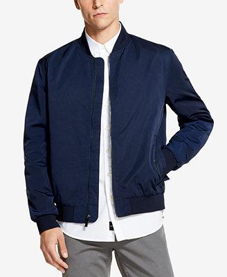 Men's Full Zip Bomber Jacket, Created For Macy's by Dkny