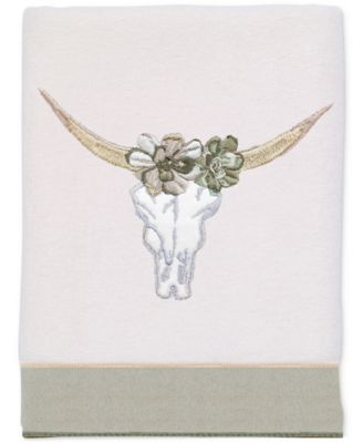 Canyon Cotton Embroidered Hand Towel