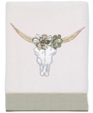 Avanti Canyon Cotton Embroidered Hand Towel Bedding