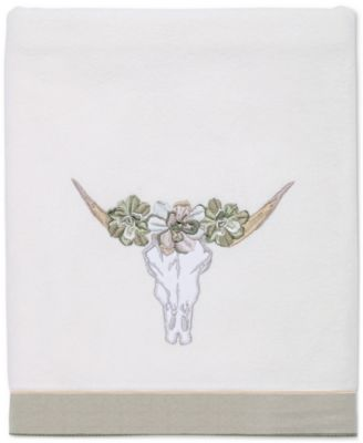 Canyon Cotton Embroidered Bath Towel