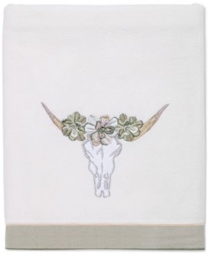 Avanti Canyon Cotton Embroidered Bath Towel Bedding