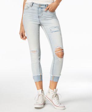Vanilla Star Juniors' Ripped Skinny Jeans 5764620