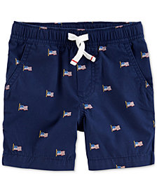 Carter's Printed Drawstring Shorts, Little Boys