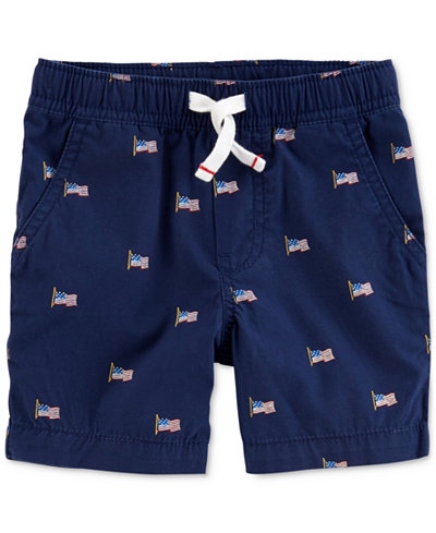 Carter's Printed Drawstring Shorts, Toddler Boys