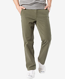 Dockers Men's Stretch Straight Fit Downtime  Smart 360 FLEX Khaki Pants
