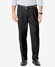 Dockers Men's Classic-Fit Comfort Stretch Pleated Pants