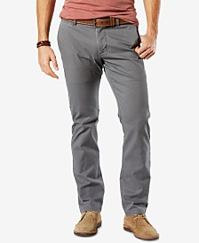 Dockers Men's Washed Slim Tapered Fit  Khaki Stretch Pants