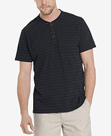G.H. Bass & Co. Men's Jack Mountain Textured Henley T-Shirt