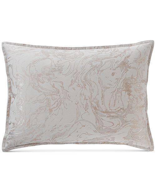 Hotel Collection CLOSEOUT! Marble King Sham, Created for Macy's