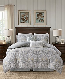 Hallie Full/Queen 5-Pc. Duvet Cover Set