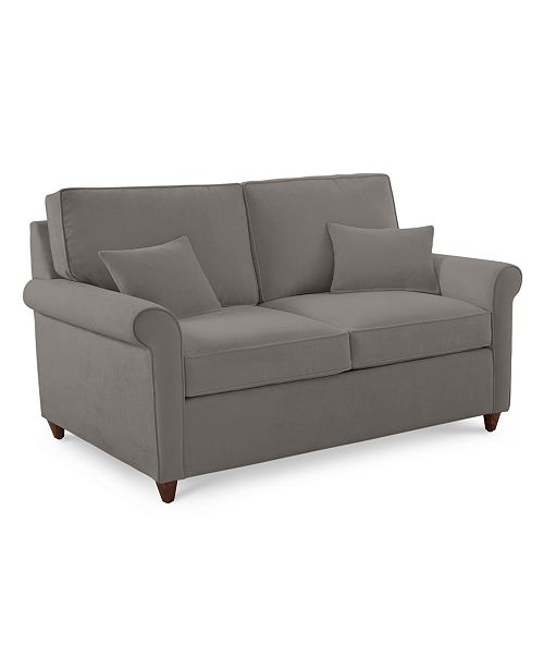 Admirable Lidia 62 Fabric Loveseat Created For Macys Short Links Chair Design For Home Short Linksinfo