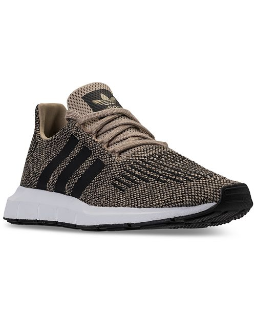 e9452e3b3cefc adidas Men s Swift Run Casual Sneakers from Finish Line   Reviews ...