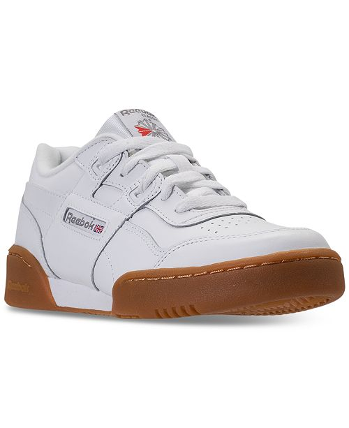 03f24a301453 ... Reebok Big Boys  Classics Workout Plus Casual Sneakers from Finish ...