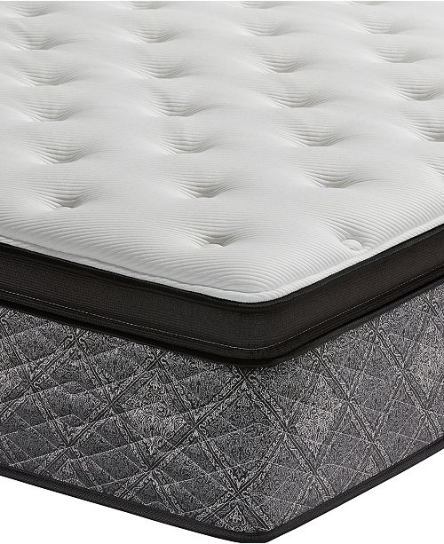 Macybed By Serta Elite 145 Firm Euro Pillow Top Mattress Set