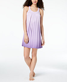 Alfani Printed Pleated Nightgown, Created for Macy's