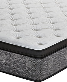 "MacyBed by Serta  Resort 13"" Firm Euro Pillow Top Mattress - Queen, Created for Macy's"